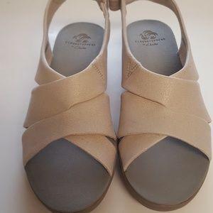 Slipon , wedge, sandal